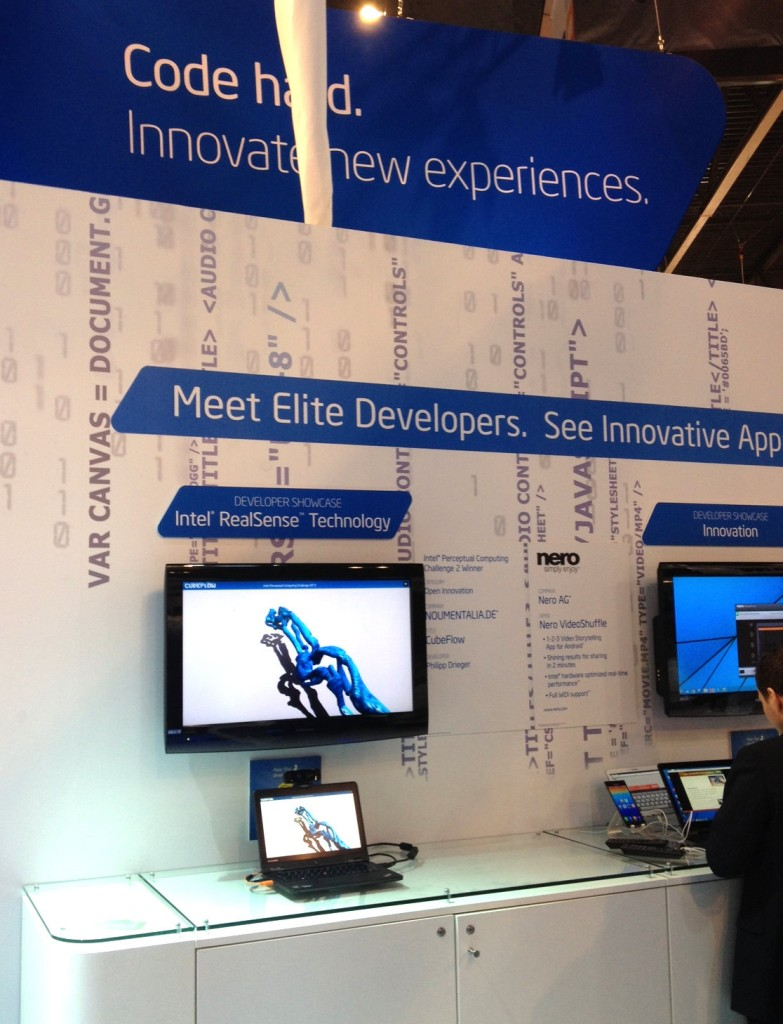 MobileWorldCongress2014_CubeFlow_Intel_RealSense_Technology